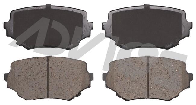 ADVICS AD0680 Disc Brake Pad Set