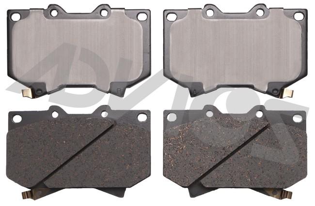 ADVICS AD0812 Disc Brake Pad Set