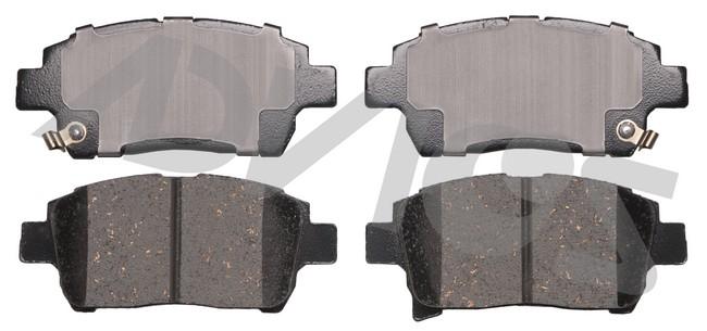 ADVICS AD0822 Disc Brake Pad Set