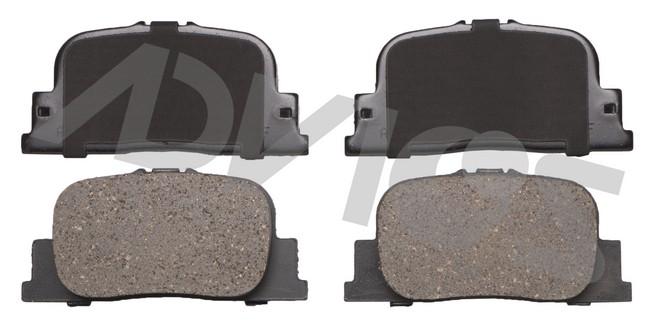 ADVICS AD0835 Disc Brake Pad Set