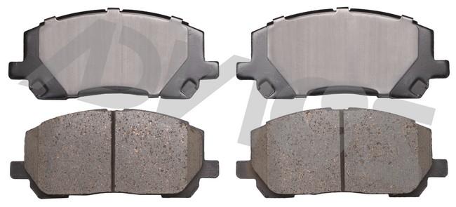 ADVICS AD0884 Disc Brake Pad Set