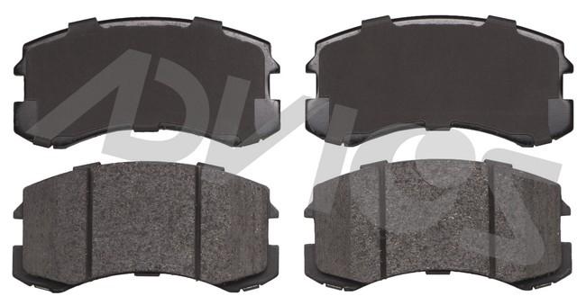 ADVICS AD0904 Disc Brake Pad Set