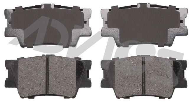 ADVICS AD1212 Disc Brake Pad Set