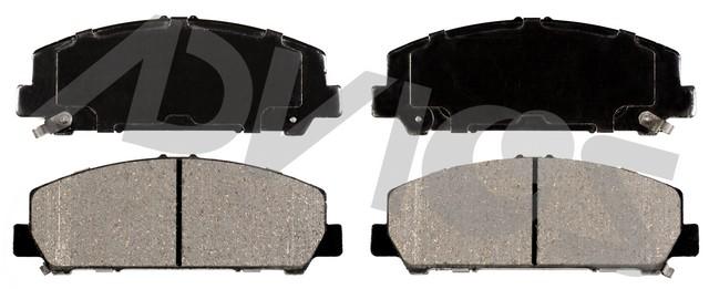 ADVICS AD1509 Disc Brake Pad Set