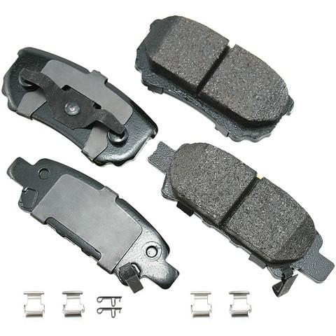 ProACT ACT1037A Disc Brake Pad Set