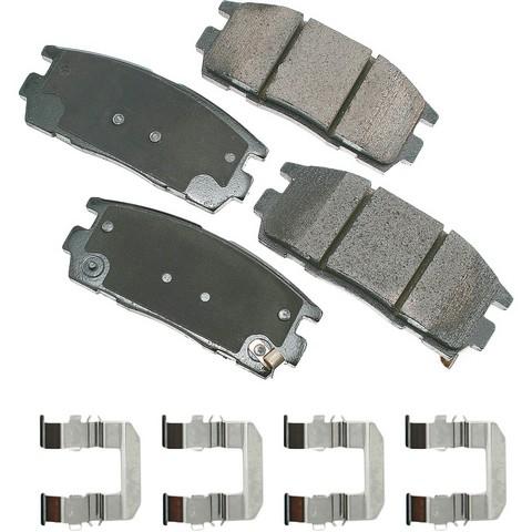 ProACT ACT1275 Disc Brake Pad Set