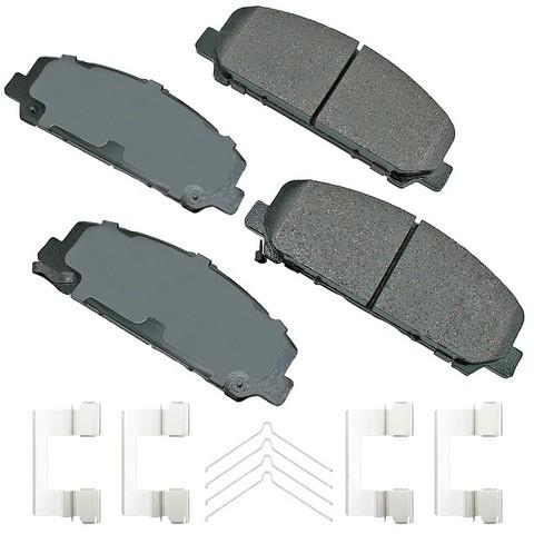 ProACT ACT1286A Disc Brake Pad Set