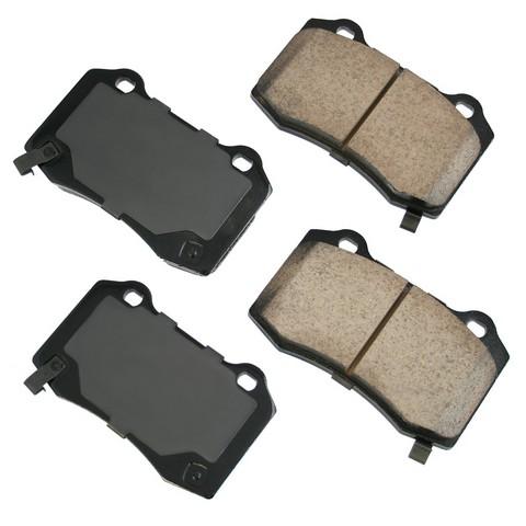 Akebono Performance ASP1053 Disc Brake Pad Set