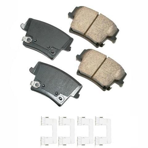 Akebono Performance ASP1057A Disc Brake Pad Set