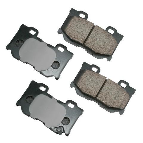 Akebono Performance ASP1347 Disc Brake Pad Set