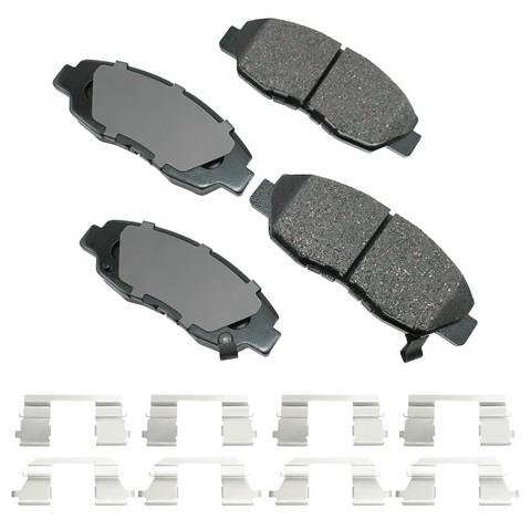 Akebono Performance ASP465D Disc Brake Pad Set