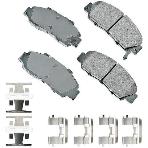 Akebono Performance ASP503A Disc Brake Pad Set