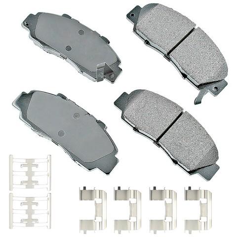 Akebono Performance ASP503B Disc Brake Pad Set