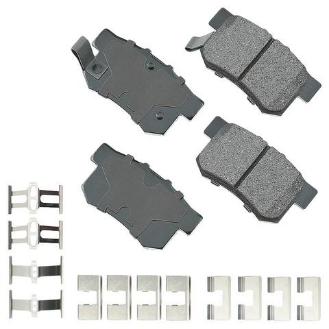 Akebono Performance ASP537A Disc Brake Pad Set