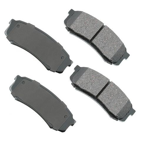 Akebono Performance ASP606 Disc Brake Pad Set