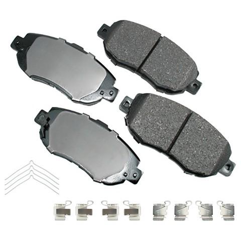 Akebono Performance ASP619A Disc Brake Pad Set