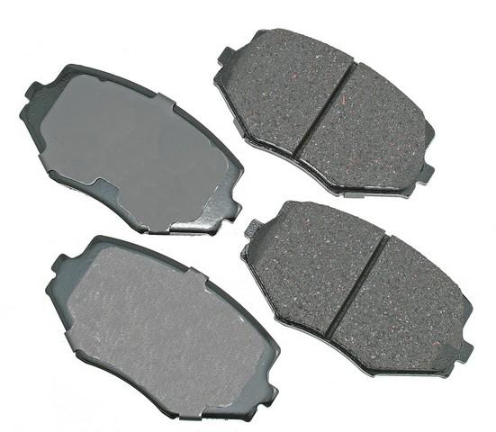 Akebono Performance ASP635 Disc Brake Pad Set
