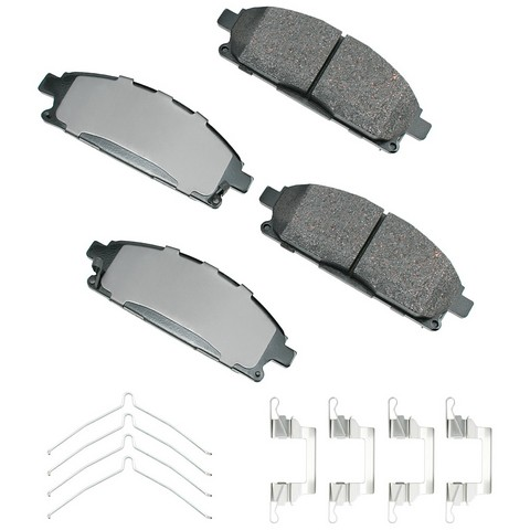 Akebono Performance ASP691B Disc Brake Pad Set