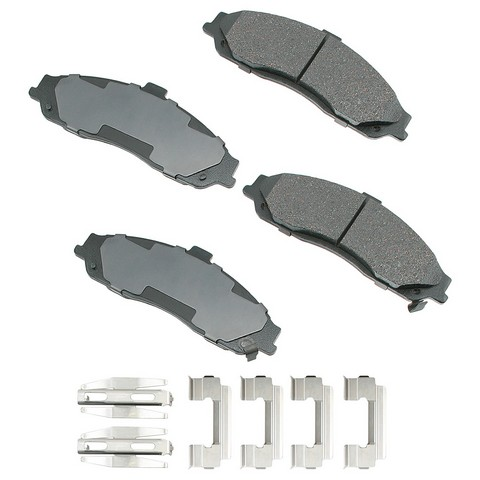 Akebono Performance ASP731A Disc Brake Pad Set