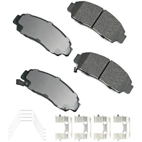 Akebono Performance ASP787A Disc Brake Pad Set