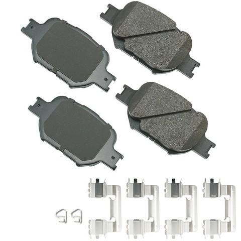 Akebono Performance ASP817A Disc Brake Pad Set