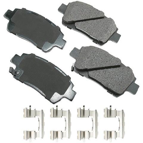 Akebono Performance ASP822A Disc Brake Pad Set