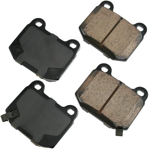 Akebono Performance ASP961 Disc Brake Pad Set