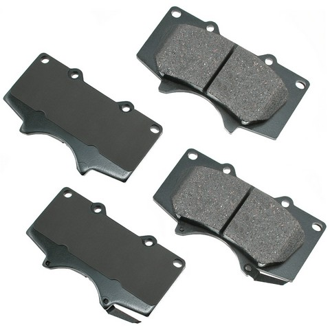 Akebono Performance ASP976 Disc Brake Pad Set