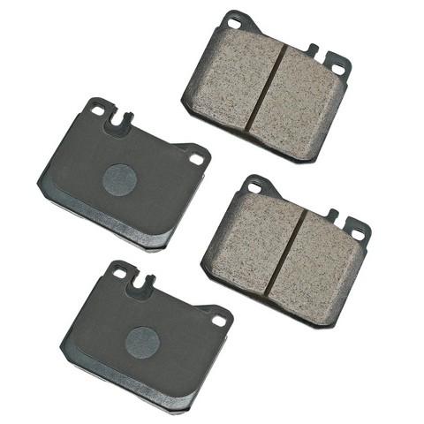 EURO EUR1072 Disc Brake Pad Set