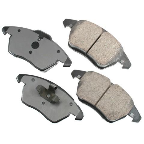 EURO EUR1107A Disc Brake Pad Set