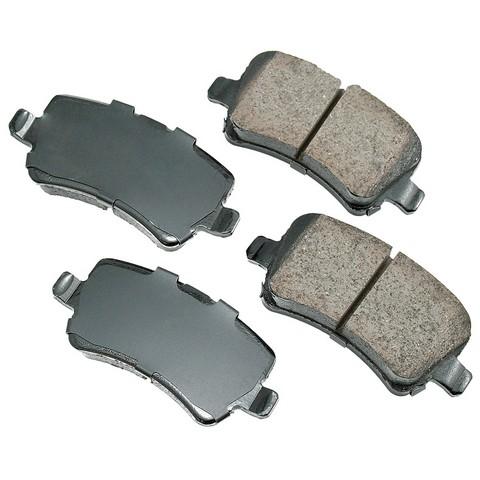 EURO EUR1307 Disc Brake Pad Set
