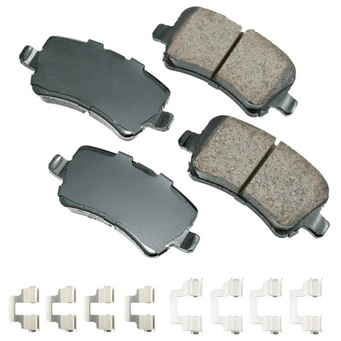EURO EUR1307A Disc Brake Pad Set