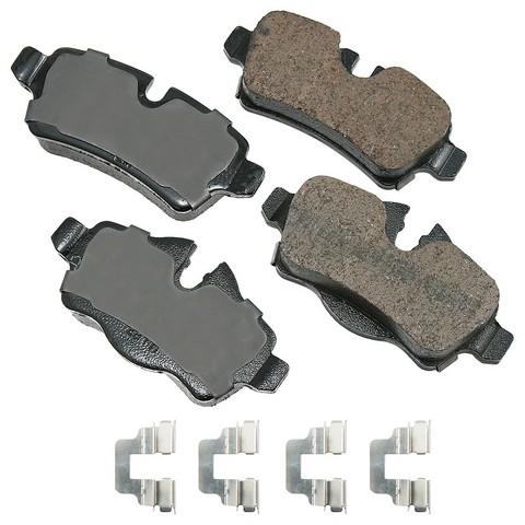 EURO EUR1309A Disc Brake Pad Set