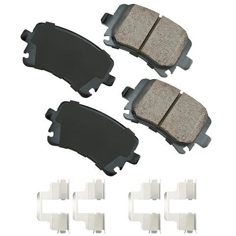 EURO EUR1348A Disc Brake Pad Set