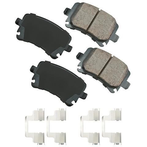 EURO EUR1348B Disc Brake Pad Set