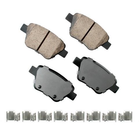 EURO EUR1456 Disc Brake Pad Set