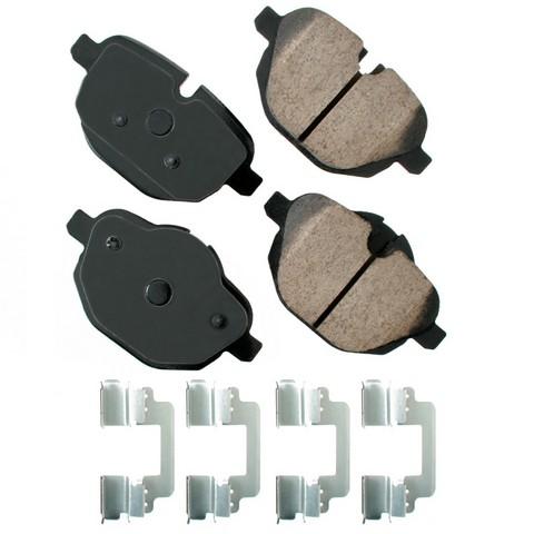 EURO EUR1473 Disc Brake Pad Set