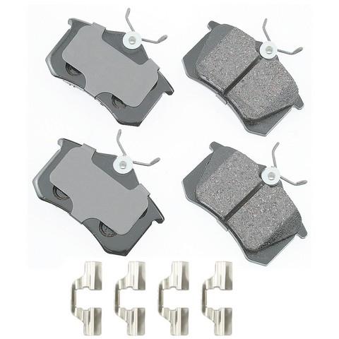 EURO EUR340B Disc Brake Pad Set