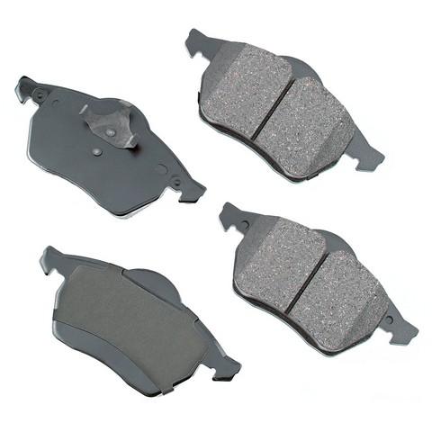 EURO EUR687A Disc Brake Pad Set