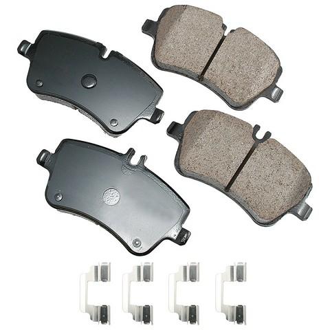 EURO EUR872A Disc Brake Pad Set