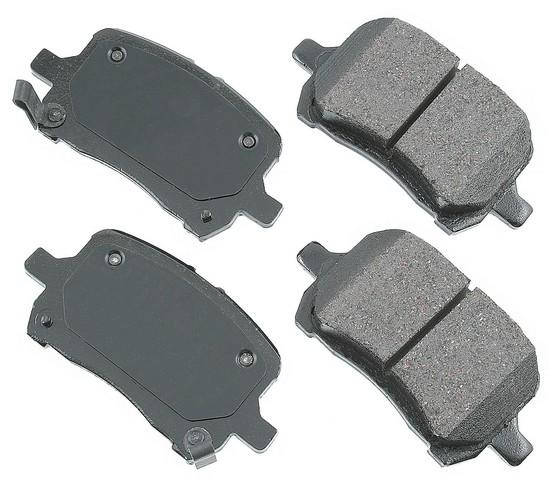 ProACT ACT1028 Disc Brake Pad Set