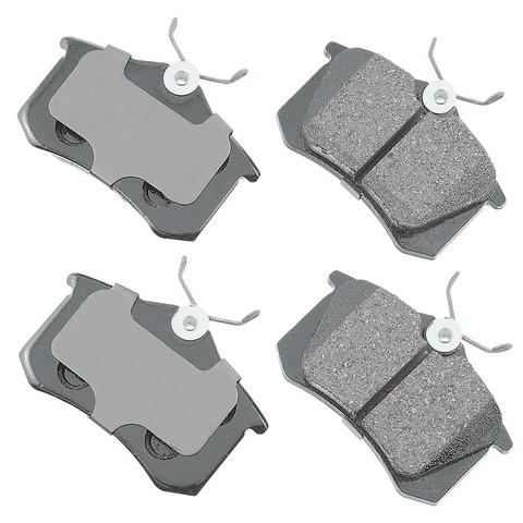 EURO EUR340A Disc Brake Pad Set