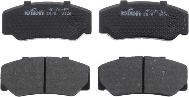 Autopart International 1403-86901 Disc Brake Pad Set