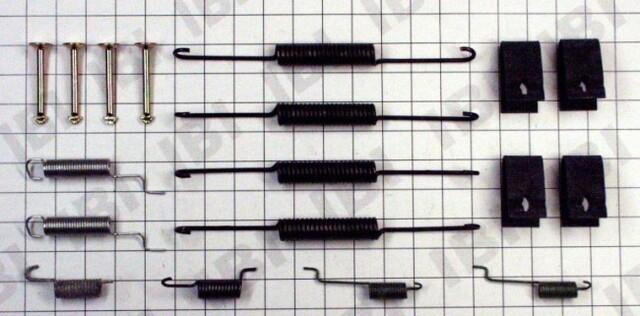 Autopart International 1406-12314 Drum Brake Hardware Kit