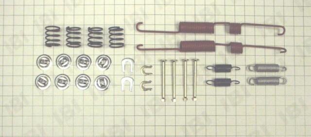 Autopart International 1406-12360 Drum Brake Hardware Kit