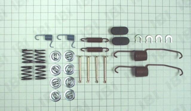 Autopart International 1406-50731 Drum Brake Hardware Kit