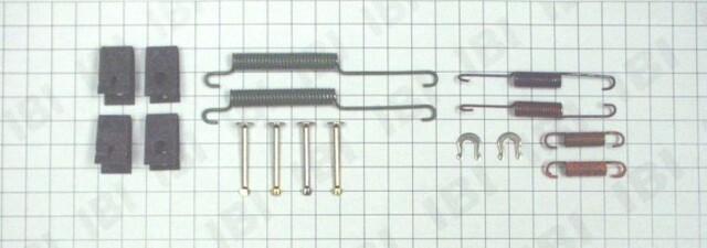 Autopart International 1406-51645 Drum Brake Hardware Kit