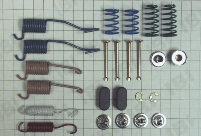 Autopart International 1406-51758 Drum Brake Hardware Kit