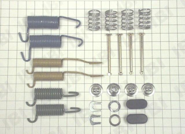 Autopart International 1406-51760 Drum Brake Hardware Kit
