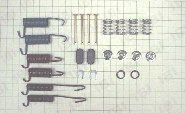 Autopart International 1406-51761 Drum Brake Hardware Kit